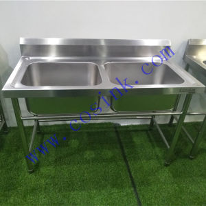European High-End Custom Zise Commercial Kitchen Stainless Steel Sink
