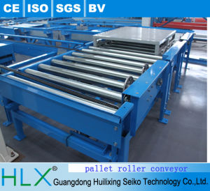 Stainless Steel Power Pallet Roller Conveyor pictures & photos