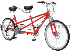 26inch Hot Sell Professional Two Riders Tandem MTB Bike/Tandem Bike pictures & photos