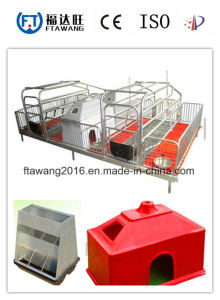 China Galvanized Pig Farrowing Crate/Pig Feeder pictures & photos