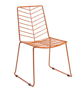 709 H45 St Offer Comfortable Simple Metal Wire Chair