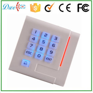 New Design Keypad Backlight Mf Wiegand Acess Contorl RFID Reader pictures & photos