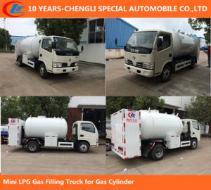 Mini LPG Gas Filling Truck for Gas Cylinder