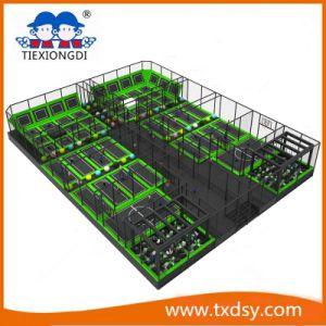 Best Play Zone-Large Trampoline Outdoor Park pictures & photos