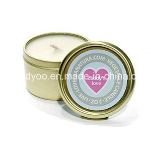 Scented Metal Tin Candle