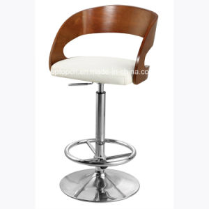 Modern Used Backrest Bent Plywood High Bar Stool (SP-BBC246) pictures & photos