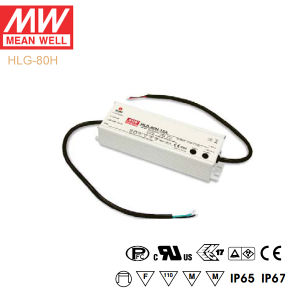 Original Meanwell Hlg-80h Series Single Output Waterproof IP67 LED Driver pictures & photos