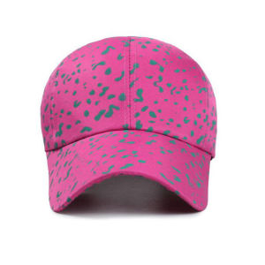 Custom Printed Fabric Flat Brim Baseball Cap pictures & photos