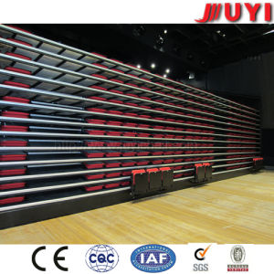 Jy-780 Wholesale Steel Portable Gymnasium Portable Bleachers for Sale Telescopic Seat Movable Wood Bleachers Grandstand pictures & photos