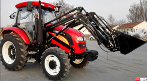 110HP 120HP 4WD Farm Tractor with Foton Style Cabin and Yto Engine pictures & photos