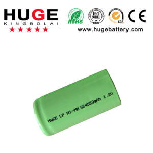 1.2V Sc 4500mAh Ni-MH Rechargeable Battery (SC) pictures & photos