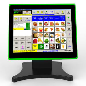 Ultra Thin Tablet-Like Touch POS Terminal with VFD Customer Display pictures & photos