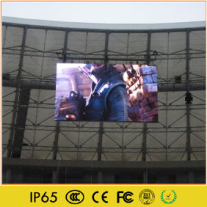 Outdoor Sports Video Advertising LED Large Stadium Display