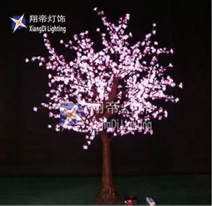 Holiday Lighting 1.5m White/blue/pink Led Simulation Tree For Outdoor Project