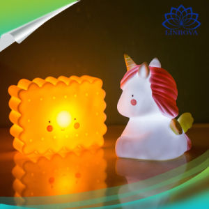Cute Unicorn Led Night Lights Decor Lamp Table For Home Bedroom