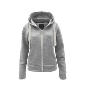 China Custom Womens Plain Funnel Neck Performance SIP up Hoodies ... 4d2a66ef4