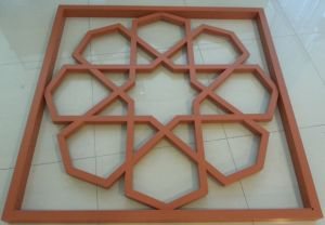 PVDF Aluminum Mashrabiya Cladding by CNC Cutting