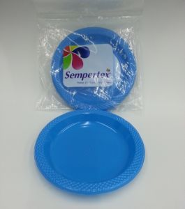 Disposable Plastic PS Color Party Plate