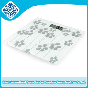 Digital Body Scale with Beautiful Decoration on Surface pictures & photos