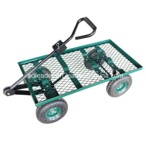 Professional Manufacturer of Flatbed Garden Cart (TC4206)