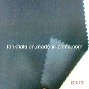 Plain Chemical Fiber Blended Wool Fabric Suit Fabric Wear (FKQ37666/1)