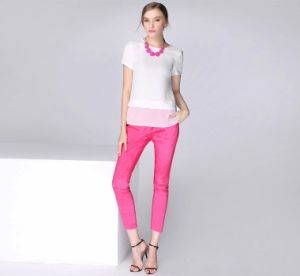 New Arrived Women′s Casual Summer Pants in High Quality with Wholesales Price pictures & photos