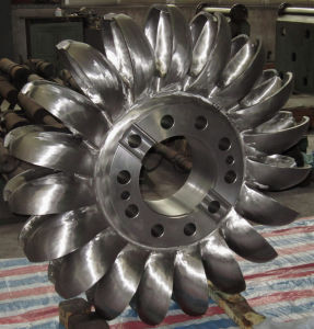 1500kw Pelton Turbine / Impulse Hydro Turbine with Two Nozzles for Hydro Power Plant pictures & photos