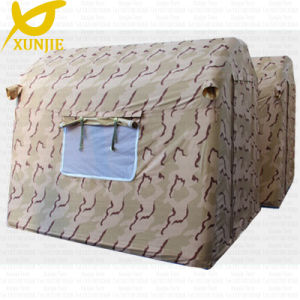 Camo Tent with Inflatable PVC Tarpaulin Fabric