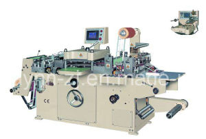 JMQ-320A Full-Automatic Roll-Roll Continuous Free Adhesive Tape Die Cutter pictures & photos