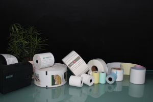 Thermal POS Paper Roll Cash Register Paper pictures & photos