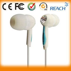 Different Color Metallic Stereo Earbuds with Microphone pictures & photos