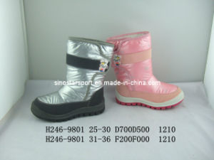 Silver Color Stylish Fashionable Snow Boots (HLSB17)