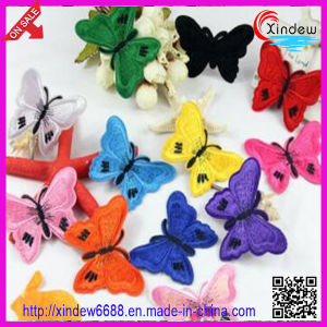Customized Embroidery Butterfly Patch pictures & photos