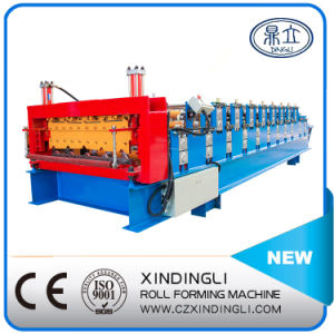 Automatic Hydraulic Double Deck Roll Forming Machinery pictures & photos