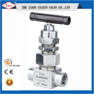Manual High Pressure10000psi Socket Connect Needle Valve