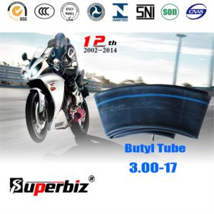 Butyl Motorcycle Tire Inner Tube (3.00-17) pictures & photos