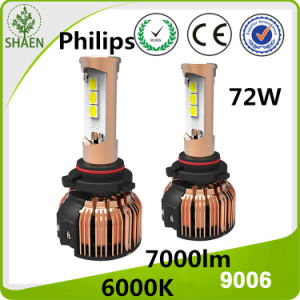 2016 New Design Philips LED Headlight Kit 9006 pictures & photos