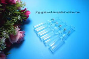 2ml Clear Ampoule Made of Low Borosilicate with Rings pictures & photos