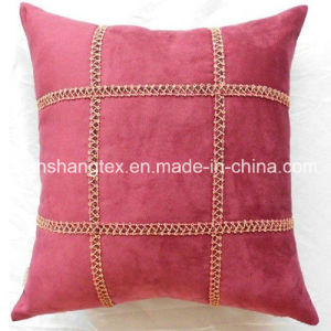 Polyester Woven Suede Fabric for Cushion(HT-1069)
