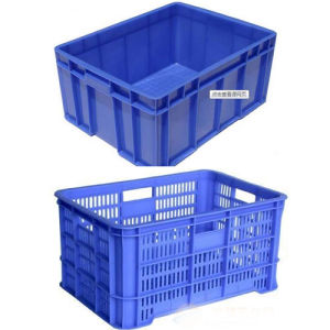 Stackable Warehouse PP Plastic Storage Frame Container Turnover Box