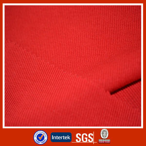 Polyester / Cotton Knit 2X2 Rib pictures & photos