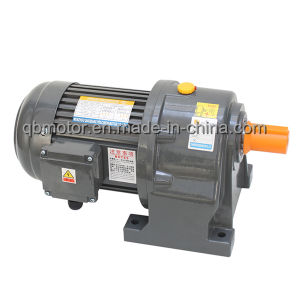 Parking Use G Series Cast Iron Housing Helical Geared Motor pictures & photos