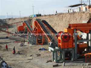 80-100t/H Jaw Crushing Plant for Mountain Rock pictures & photos