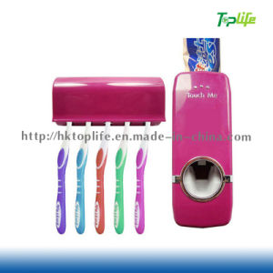 Useful Automatic Toothpaste Squeezer and Tooth Paste Holder Set