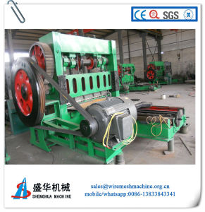 Expanded Metal Mesh Machine, Aluimium Mesh Expanded Machine pictures & photos