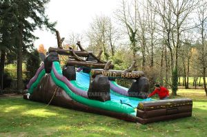 Inflatable Wild Rapids Water Slide (B4008) pictures & photos