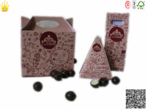 Cake Chocolate Boxes with Handle /Cookies Chocoalte Bpx (mx-112) pictures & photos