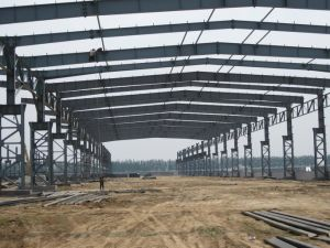 Steel Structure for Market Place