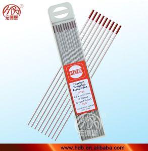 thorium 2% Thorium tungsten electrode TIG WT20 package of 10 pieces red Welding 1,6 mm x150 mm Tungsten electrodes