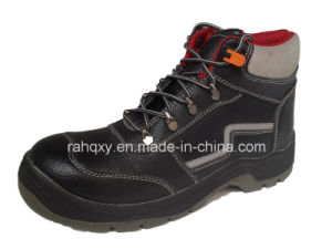 Red Air Mesh Lining Safety Shoes (HQ05032) pictures & photos